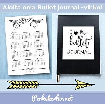 Bullet Journal Vihko