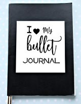 Kuva: bullet journal